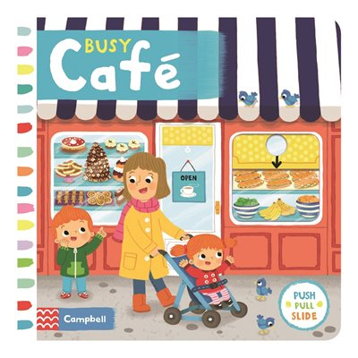 Book cover for Busy Café